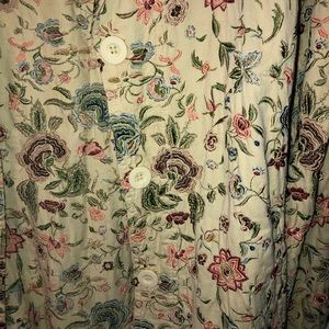 Johnny Was Jackets & Coats - JOHNNY WAS Embroidered Floral Duster M